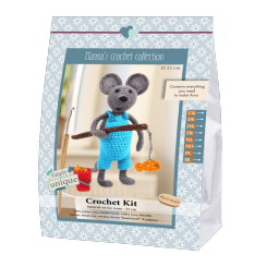Arno Crochet kit, 22 cm