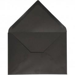 Kuverter sort  11,5x16 cm