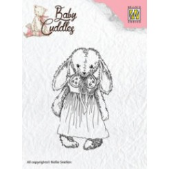 Cuddly Girl stempel , CSB002 NS