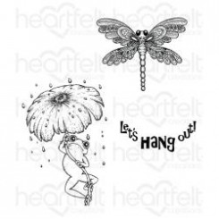 Froggy Hangout stamp, HCPC-3730
