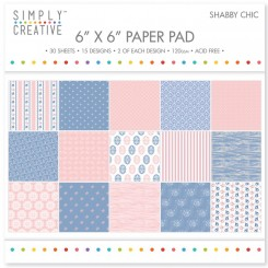 Shabby Chic 15 x 15 cm Paper Pad
