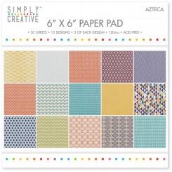 Azteca 15 x 15 cm Paper Pad