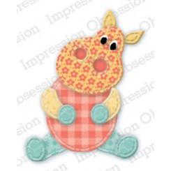 Patchwork Hippo Die421-J, IO