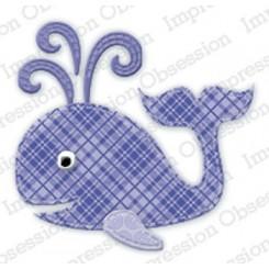 Patchwork Whale Die424-K, IO