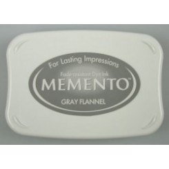 Gray Flannel Memento ink