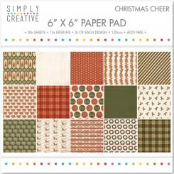 Christmas Cheer Paper pad,