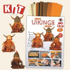 The Fringe Viking Kit- Quilling kit
