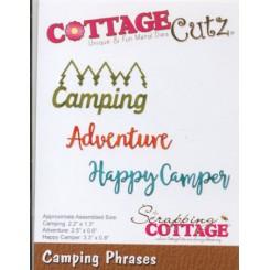 Camping Phrases dies, CottageC