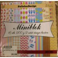 Miniblok Sommer Designer karton